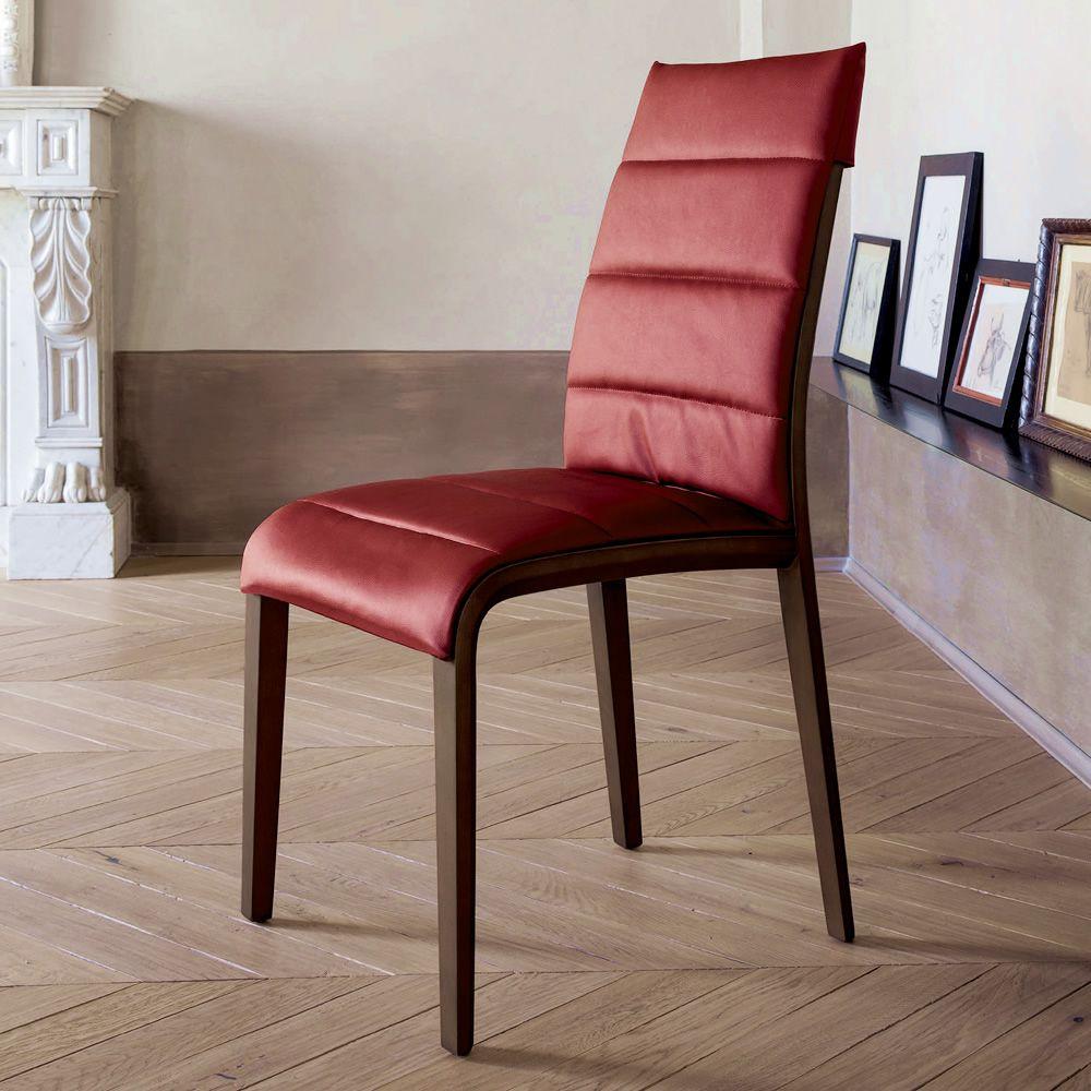 portofino 7218 stuhl tonin casa aus holz sitzbezug aus leder oder kunstleder sediarreda. Black Bedroom Furniture Sets. Home Design Ideas