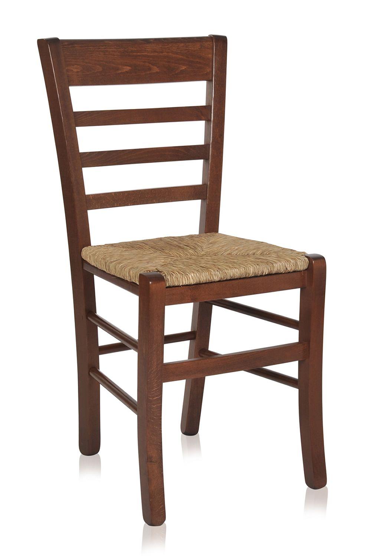 mu49 chaise rustique en bois diff rentes teintes disponibles assise en bois paille ou. Black Bedroom Furniture Sets. Home Design Ideas