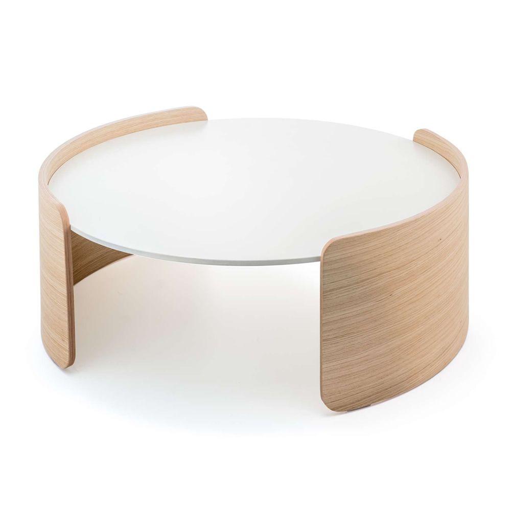 parenthesis b beistelltisch pedrali oval oder rund aus eichenholz und mit kompaktplatte in. Black Bedroom Furniture Sets. Home Design Ideas