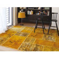 Antalya Yellow - Tappeto moderno in pura lana vergine