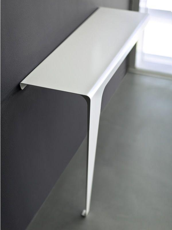 Lama consolle consolle di design in metallo sediarreda for Consolle di design