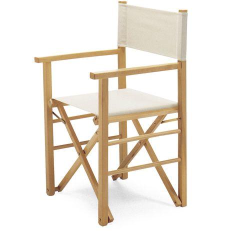 Montecarlo silla plegable estilo director de cine - Silla director ikea ...