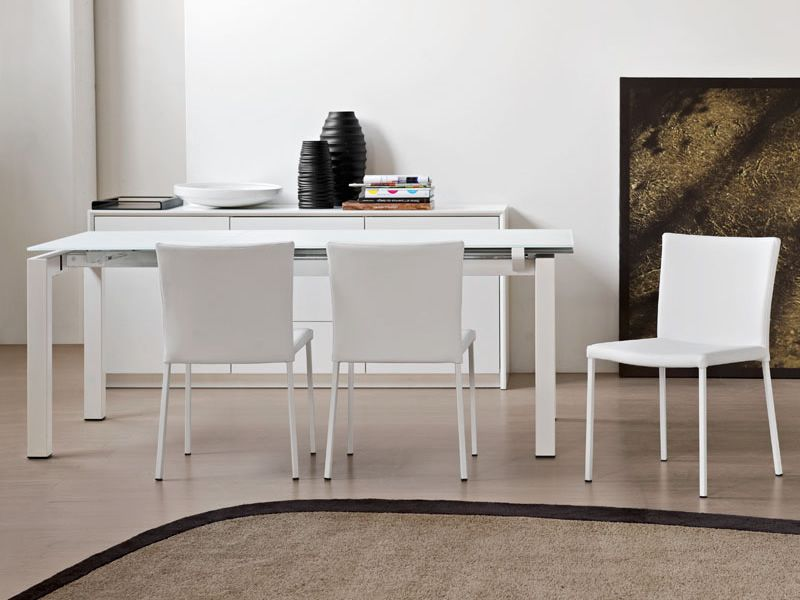 Cb4011 airport table connubia calligaris en m tal for Airport one calligaris