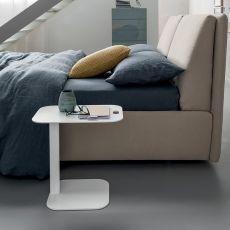 Display - Comodino - Tavolino Dall'Agnese in metallo, diversi colori disponibili