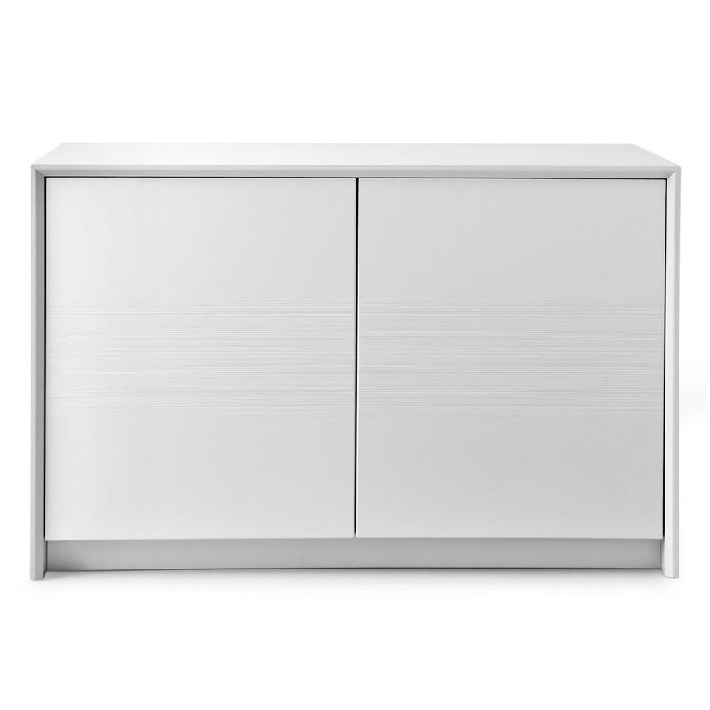 Cb6031 1 password mobile credenza connubia calligaris in legno laccato due ante 125 x 52 - Mobile a due ante ...