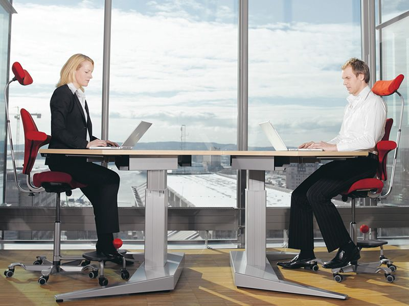 Capisco 8107 silla ergon mica de oficina h g asiento for Sillas ergonomicas para pc