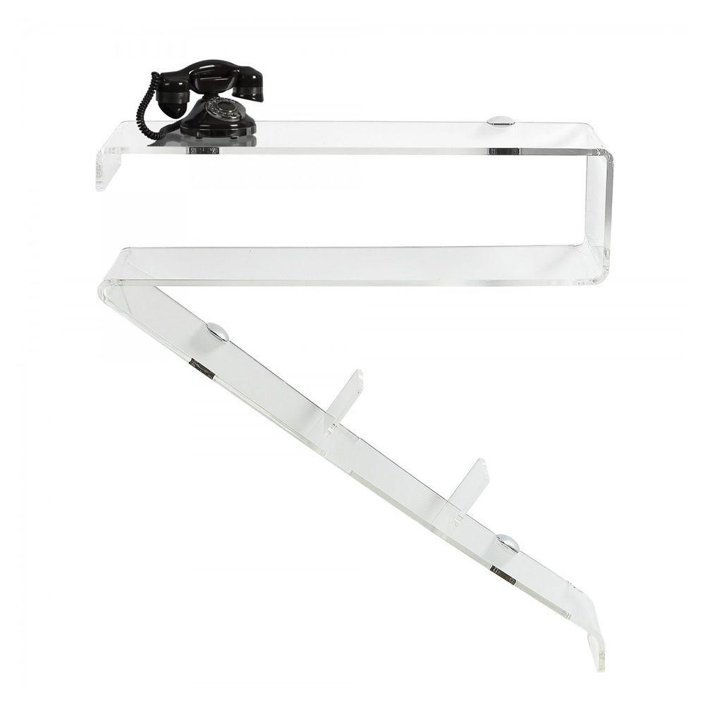 Arrow | Transparent methacrylate console table