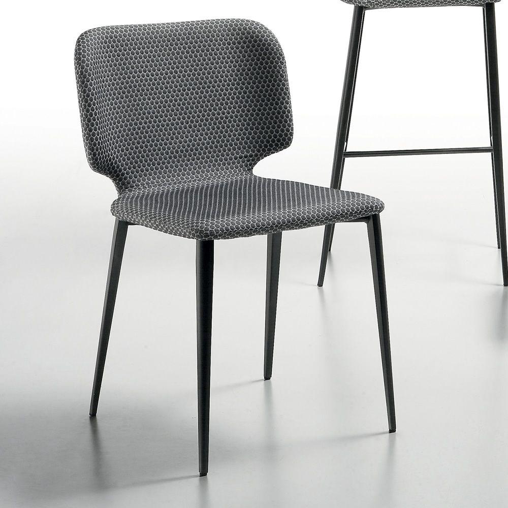 Wrap s sedia midj in metallo rivestimento in pelle for Sedia wrap