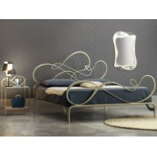 Blues - Double bed in wrought-iron, several colours available