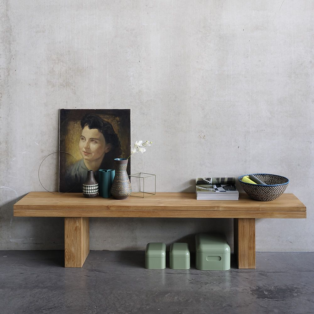 Chaises et tables ethnicraft: l'Élégance du bois massif ...