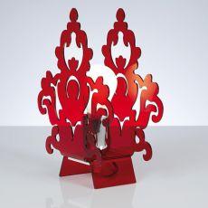 Amarilli T - Lampe de table, abat-jour en méthacrylate, disponible en différentes couleurs