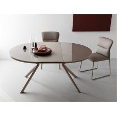 Tavoli allungabili il design che si trasforma sediarreda for Tavolo ovale calligaris