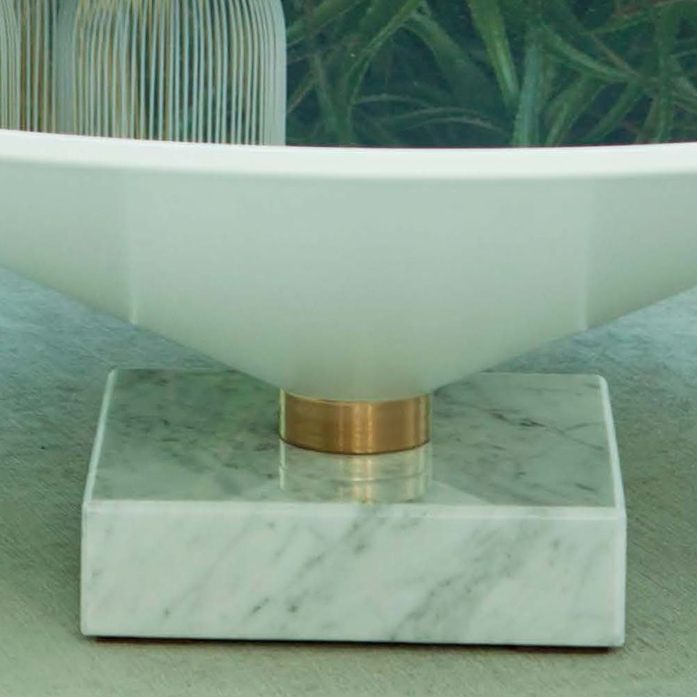 Flute 6032: Tonin Casa Coffee Table Made Of Marble And
