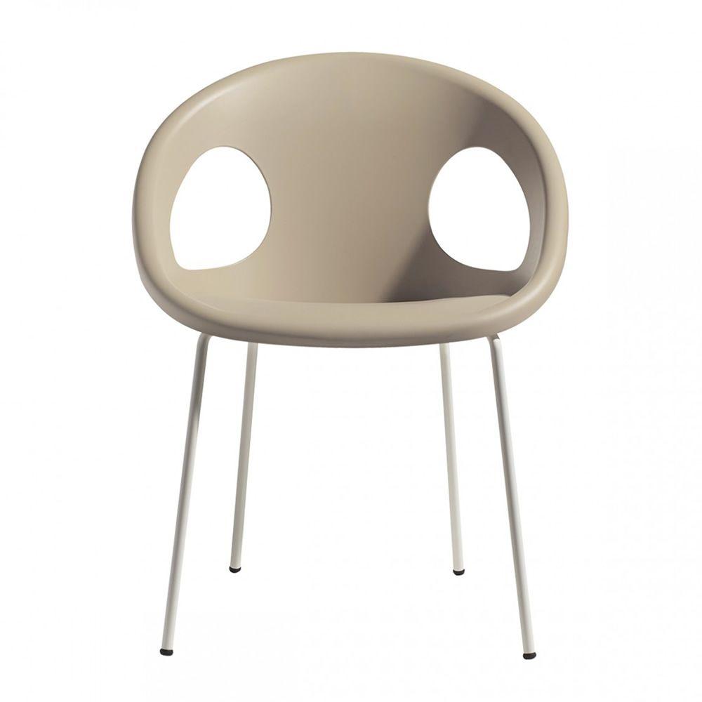 drop v 2682 moderner stapelsessel aus metall und technopolymer in verschiedenen farben. Black Bedroom Furniture Sets. Home Design Ideas