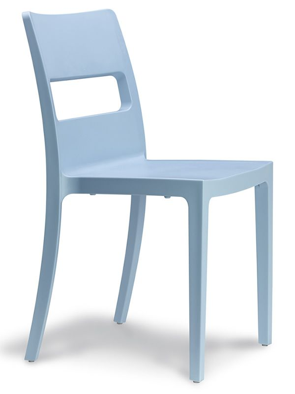 Sai 2275: Stapelbarer Stuhl, aus Technopolymer, verschiedenen Farben ...