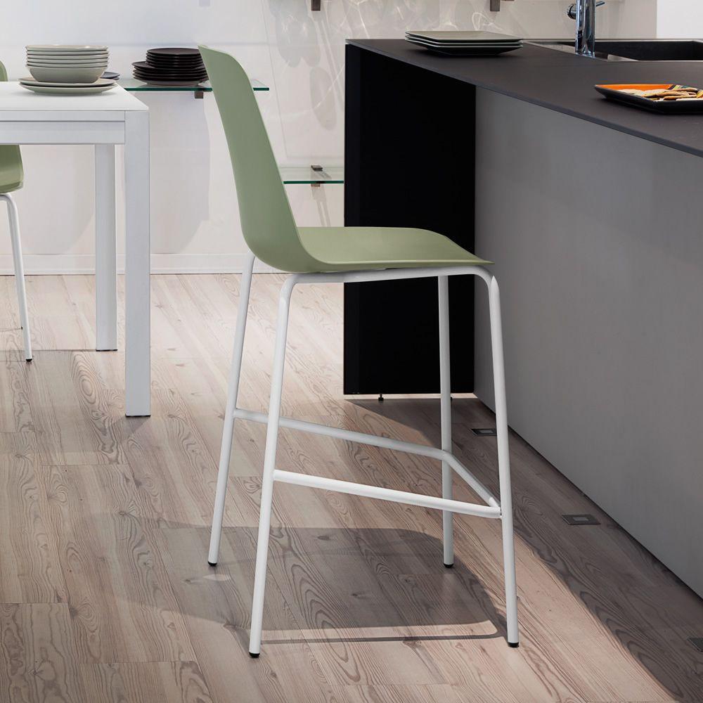 Dot sgb taburete domitalia en metal asiento en - Asientos para taburetes ...