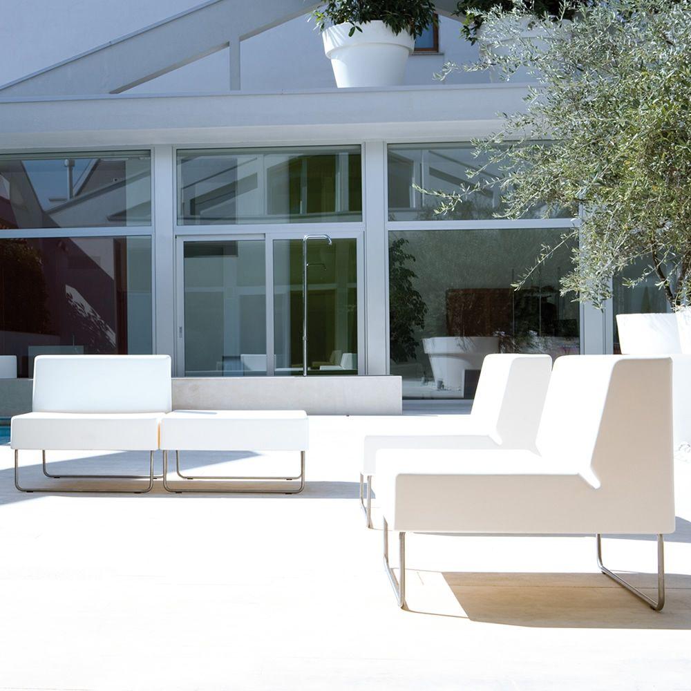 Host 790 para bare y restaurantes asiento modular para for Sofas exterior polietileno