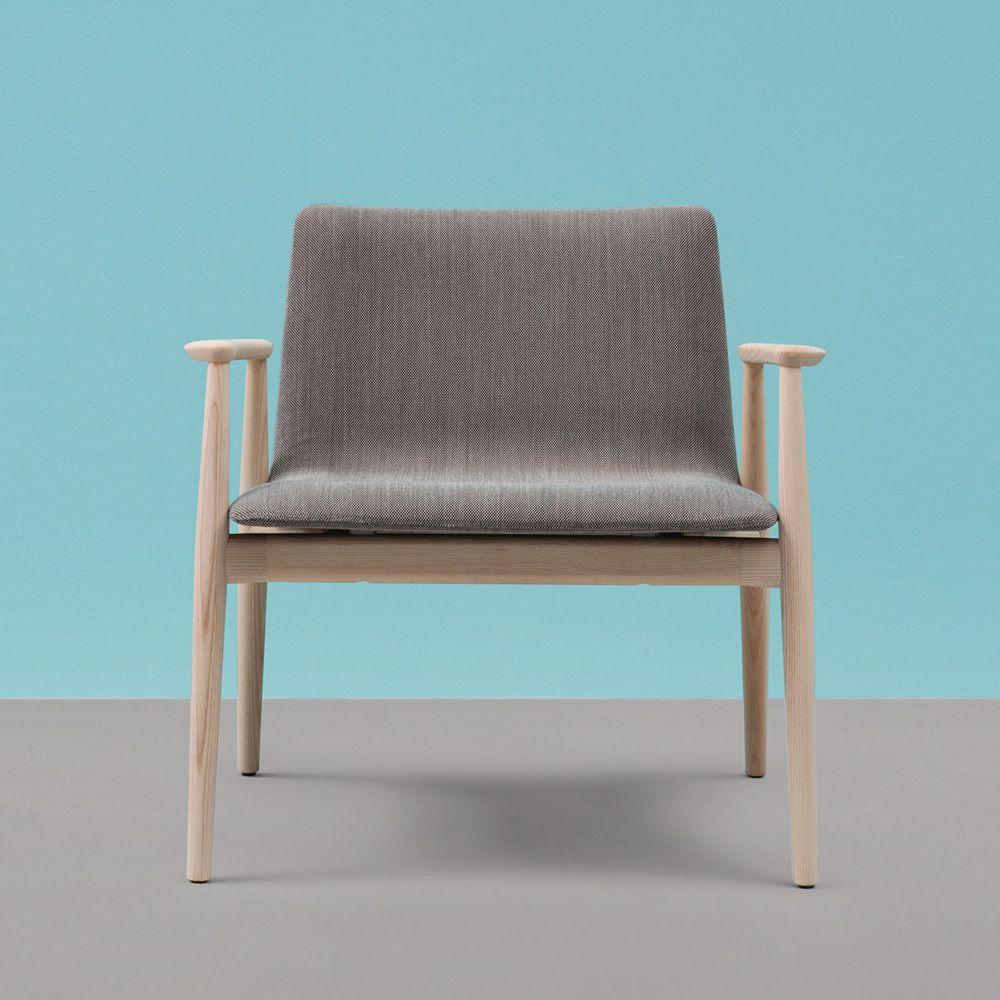 malm lounge 296 designer sessel pedrali aus holz mit gepolstertem sitz mit verschiedenen. Black Bedroom Furniture Sets. Home Design Ideas