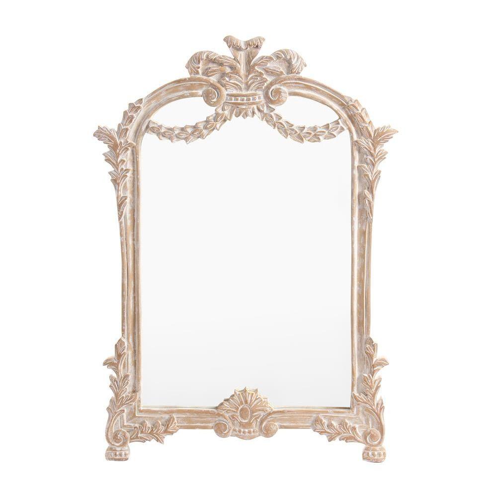 Reale sp specchio shabby chic in legno 55x80 cm - Specchio ovale shabby chic ...
