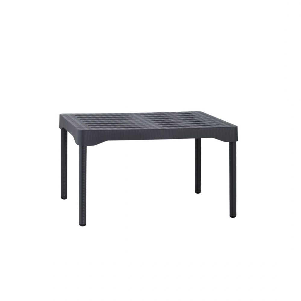 Olly 2195 table basse en m tal et en polypropyl ne for Table basse gris anthracite