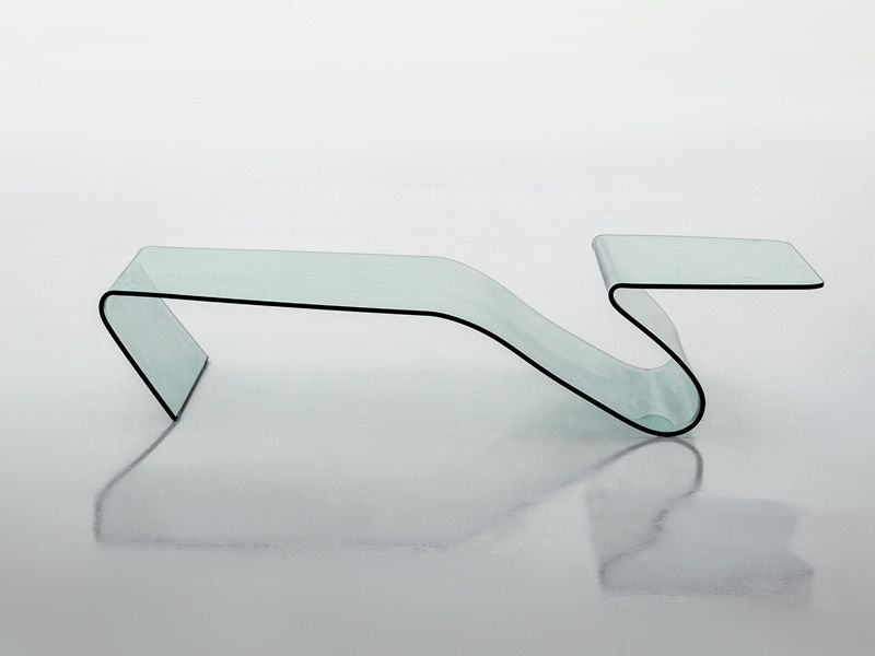 alaric 6223 table basse de design tonin casa en verre 142 x 70 cm sediarreda. Black Bedroom Furniture Sets. Home Design Ideas