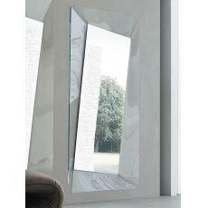 Callas-R 7528 - Rechteckiger Spiegel Tonin Casa mit Glasrahmen 108 x 200 cm