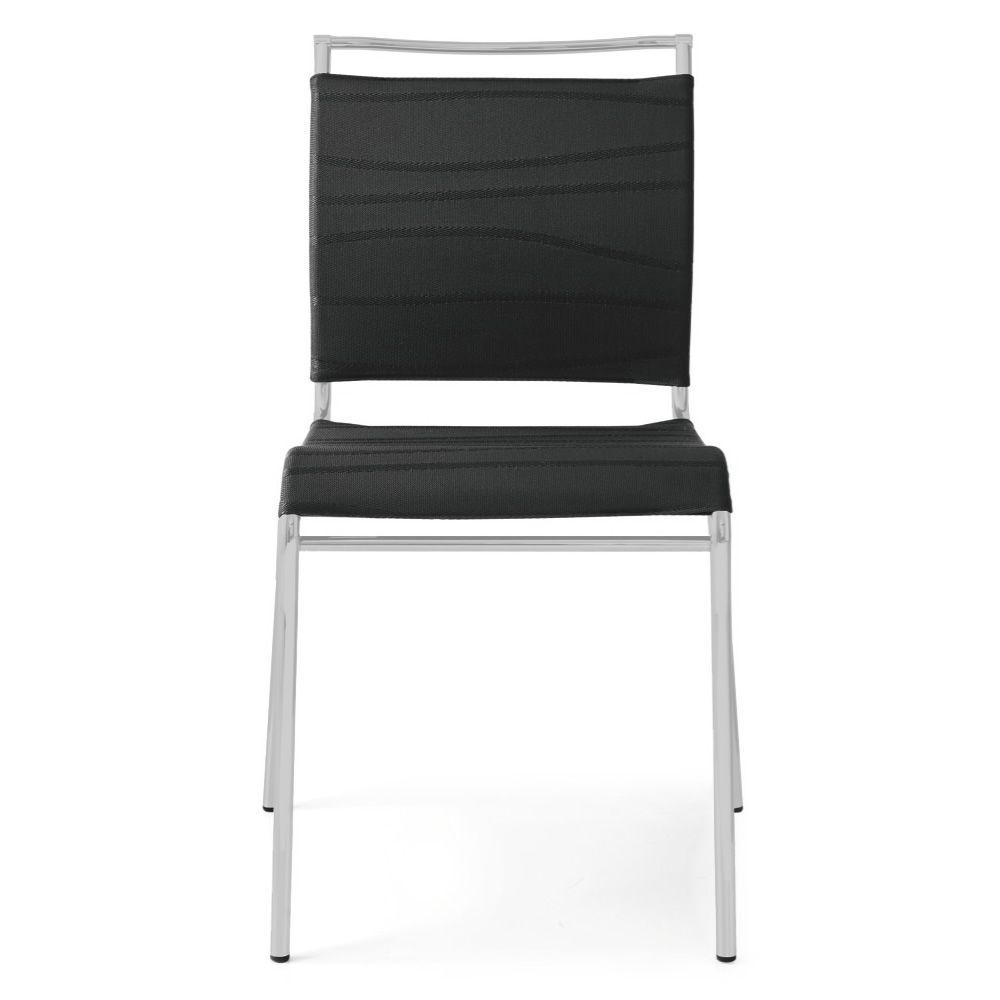 Cs93 air chaise calligaris en m tal et filet empilable for Air france assistance chaise roulante