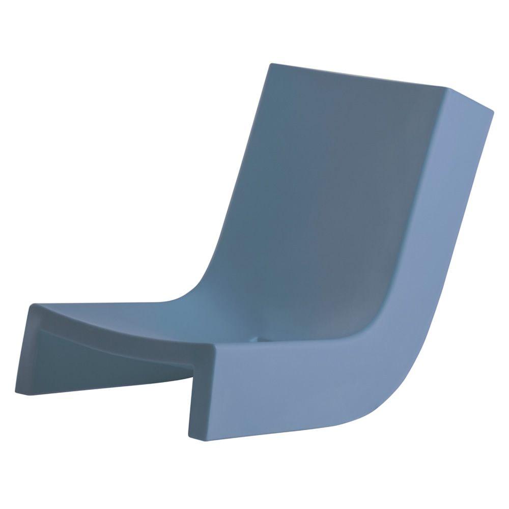 Twist poltroncina a dondolo slide in polietilene anche per giardino sediarreda - Poltrona a dondolo di design ...