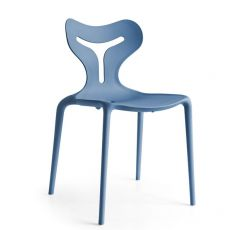 CB1042 Area51 - Connubia - Calligaris stackable chair, made of polypropylene, different colours available, also for garden
