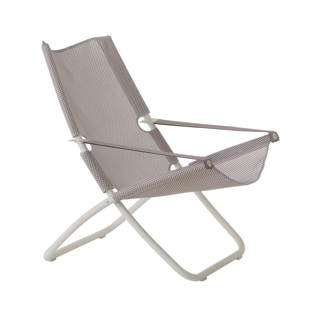 Snooze chaise longue emu en m tal pliable r glable en 2 for Chaise longue speciale
