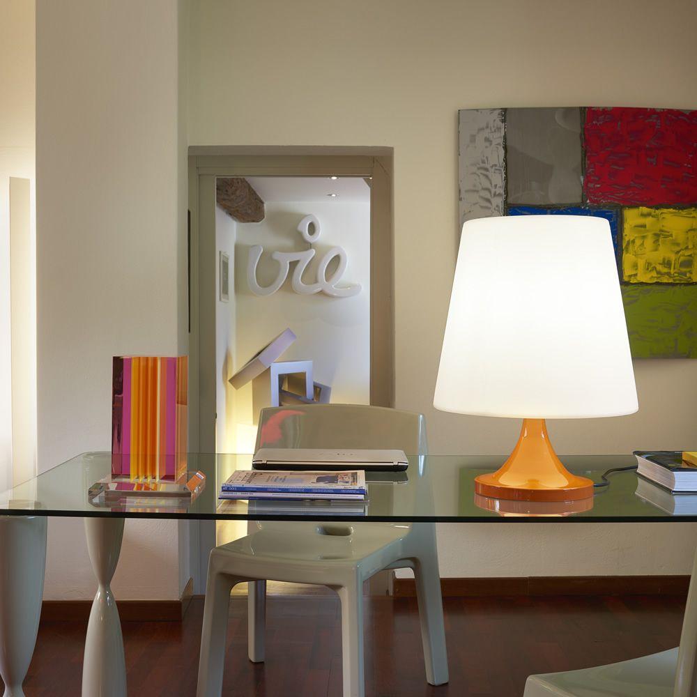 Ali baba stand lampada da tavolo slide in metallo e for Lampada da tavolo di design
