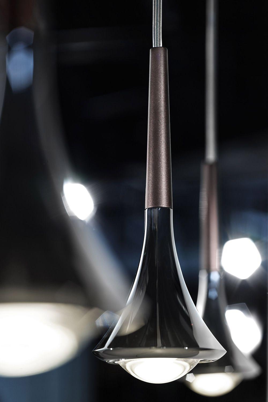 Rain - Lampada a sospensione di design, in metallo, LED ...