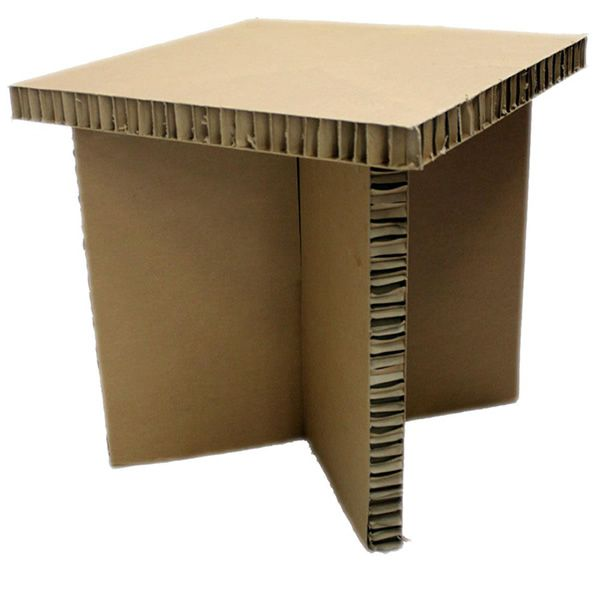 tavolino concept ecological shelf in cardboard several