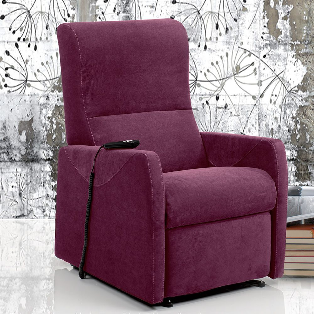 Orchidea: Electric and adjustable relax armchair ...