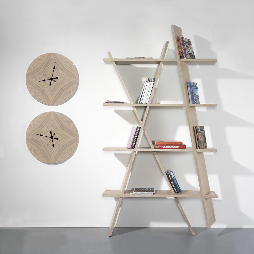 Top X1 Bookshelf - Libreria di design, da terra fissata a parete, in  JP87