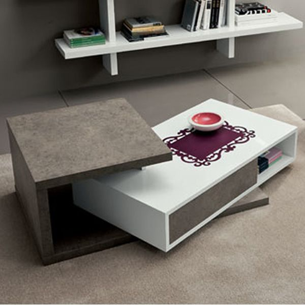 table basse moderne avec tiroir. Black Bedroom Furniture Sets. Home Design Ideas