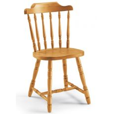 AV104 - Country stile chair in pine wood, several colours