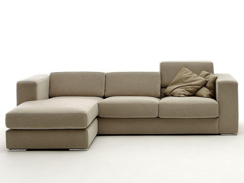 Matrix - Divano a 2 posti o 3 posti con penisola reversibile e cuscini dello schienale ...