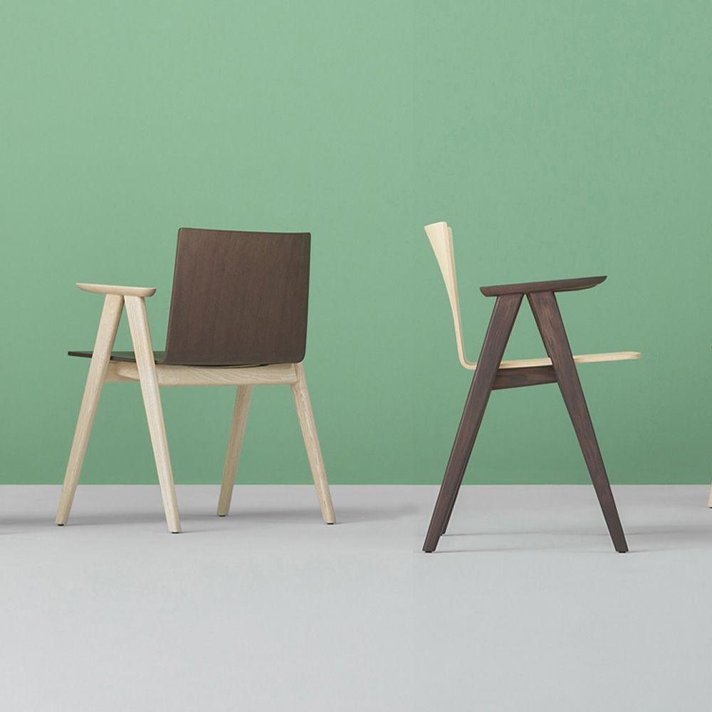Osaka 2815 sedia con braccioli pedrali di design in for Sedia di design
