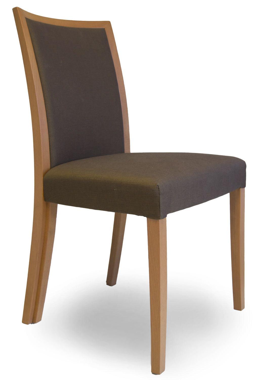 Forma silla moderna tonon estructura de madera y asiento for Tapizados de sillas modernas