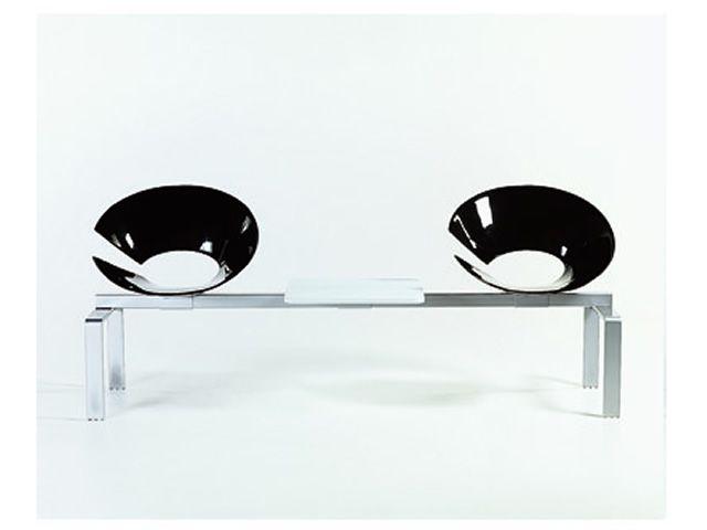diva bench bank colico design f r wartesaal sitz aus technopolymer sediarreda. Black Bedroom Furniture Sets. Home Design Ideas