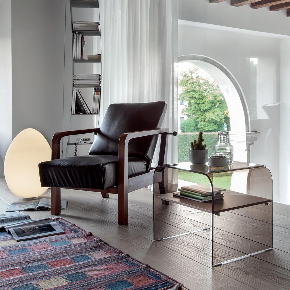Anemone 6829 - Tavolino da salotto - comodino Tonin Casa in vetro ...