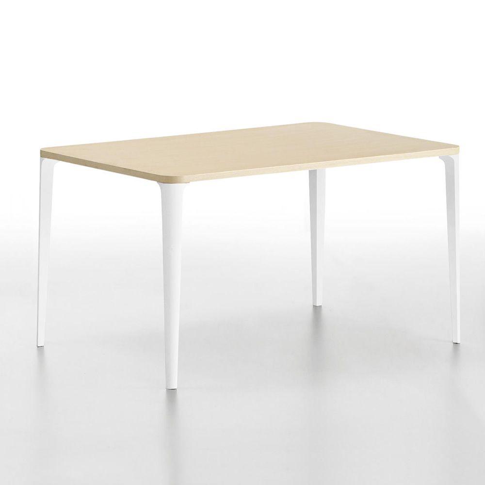 nen feststehender tisch midj aus metall mit tischplatte aus holz sediarreda. Black Bedroom Furniture Sets. Home Design Ideas