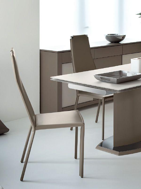 cliff domitalia esszimmerstuhl bezug aus lederfaserstoff sediarreda. Black Bedroom Furniture Sets. Home Design Ideas