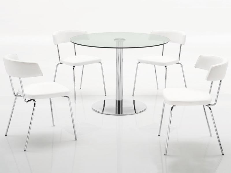 324 soft sedia in metallo seduta e schienale imbottiti for Rivestimento sedie