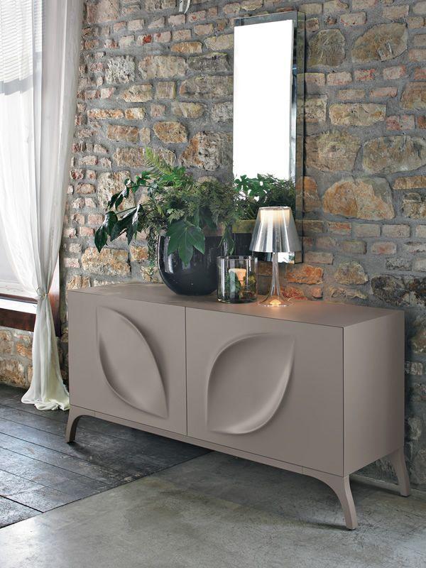 Leaves 8540 madia tonin casa in metallo e mdf laccato - Color fango abbinamenti ...