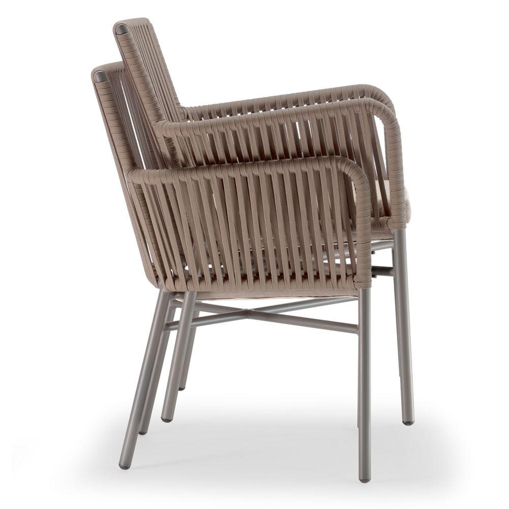 Stella sill n para exteriores en aluminio tapizada con for Aluminio productos de fundicion muebles de jardin