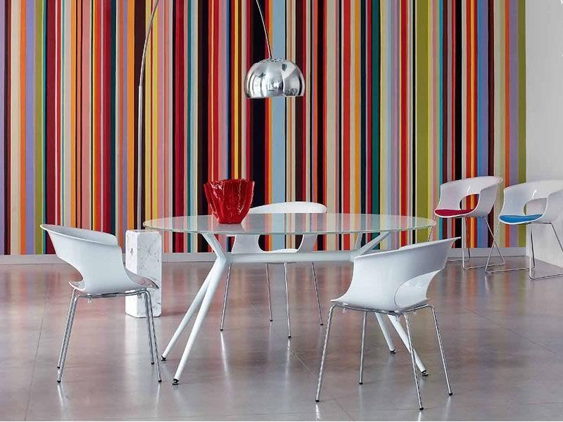 Miss b 2690 sill n moderno metal y policarbonato disponible en varios colores sediarreda - Sillas en policarbonato ...
