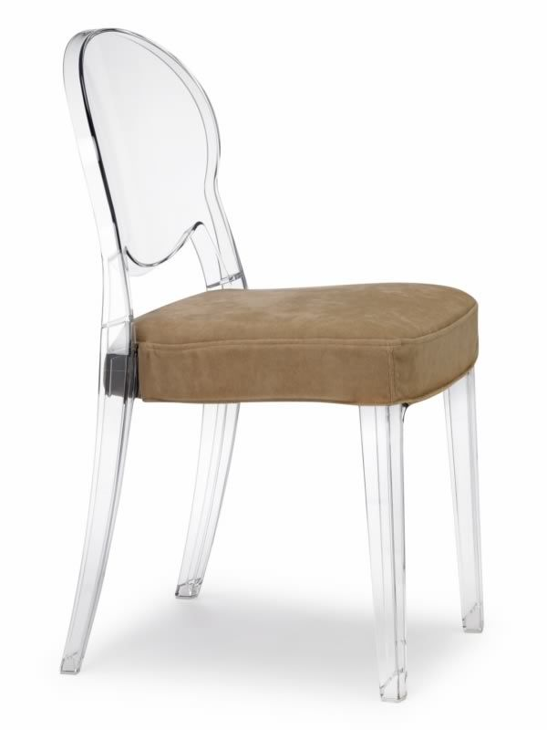 Igloo chair 2357 design stuhl aus polycarbonat stapelbar for Stuhl transparent design