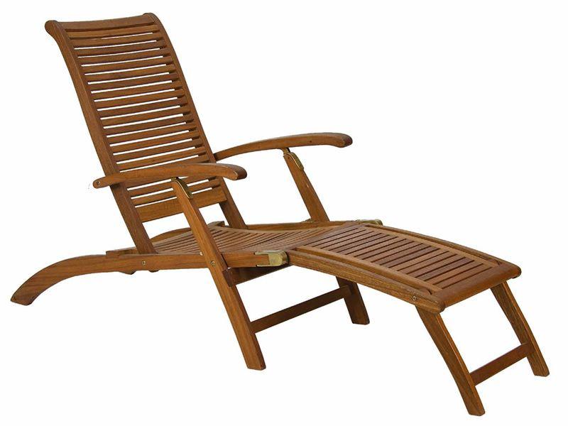 Ticino l pour bars et restaurants chaise longue en bois - Chaise exterieur bois ...